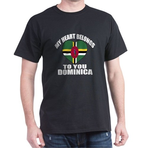 My Heart Belongs To You Dominica Coun T-Shirt