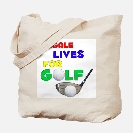Abigale Lives for Golf - Tote Bag