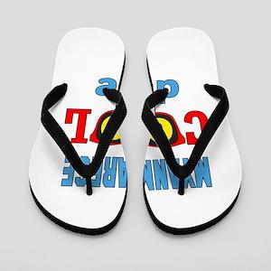 Myanmarese Cool Dude Flip Flops