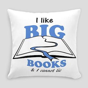 I like Big Books Everyday Pillow