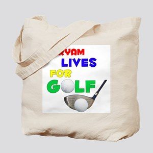 Maryam Lives for Golf - Tote Bag