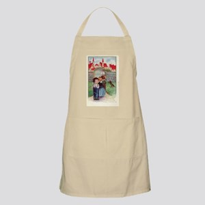 Thanksgiving Town Apron