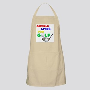 Garfield Lives for Golf - BBQ Apron
