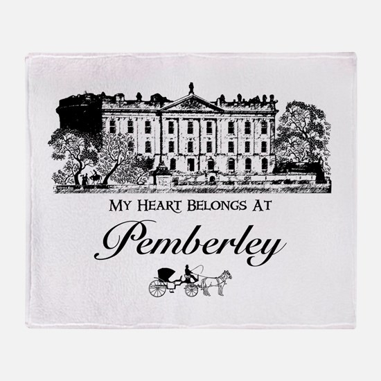 Cool Mr darcy Throw Blanket
