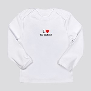 I Love HUSKERS Long Sleeve T-Shirt