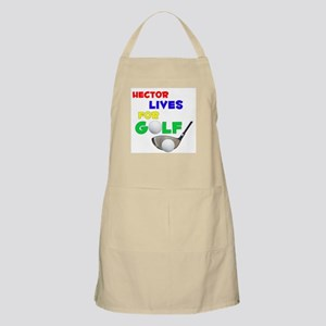 Hector Lives for Golf - BBQ Apron
