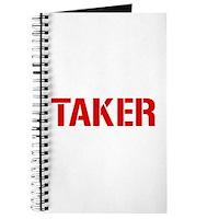 Taker Journal