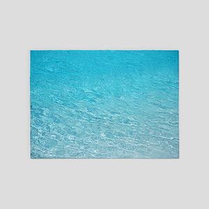 Water Aqua BM 5'x7'Area Rug