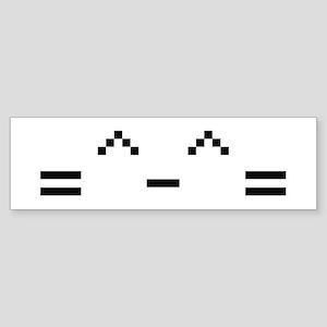 Happy Cat Bumper Sticker