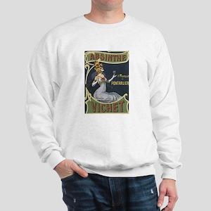 Vichet Absinthe Liquor Label Sweatshirt