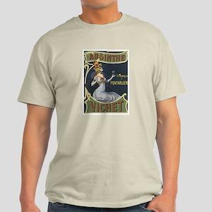 Vichet Absinthe Liquor Label Light T-Shirt