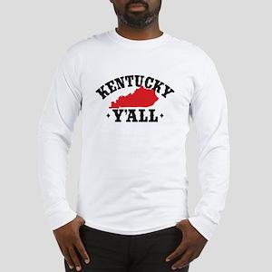 Kentucky Y'All Long Sleeve T-Shirt