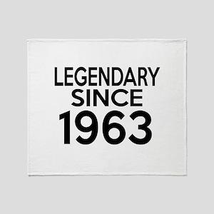 Legendary Since 1963 Throw Blanket