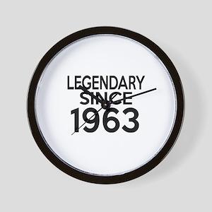 Legendary Since 1963 Wall Clock