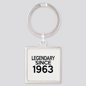 Legendary Since 1963 Square Keychain