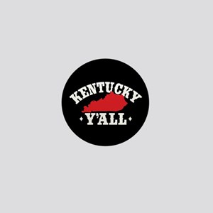 Kentucky Y'All Mini Button