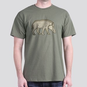 Pictish Boar Dark T-Shirt