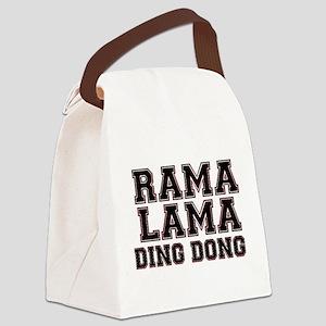 RAMALAMADINGDONG Canvas Lunch Bag