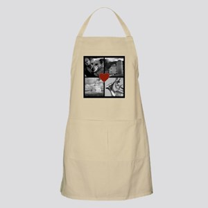 Photo Block with Heart Apron