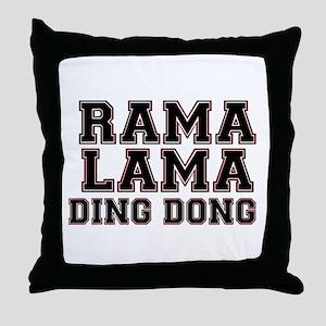 RAMALAMADINGDONG Throw Pillow