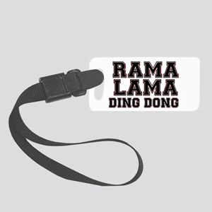 RAMALAMADINGDONG Small Luggage Tag