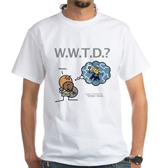 Durkon: W.W.T.D.? White T-Shirt
