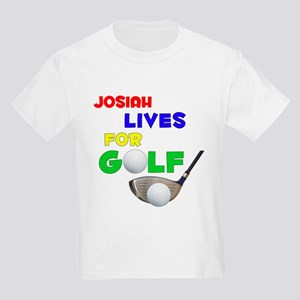 Josiah Lives for Golf - Kids Light T-Shirt