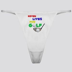 Keven Lives for Golf - Classic Thong
