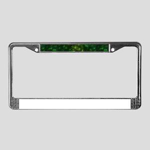 weed License Plate Frame
