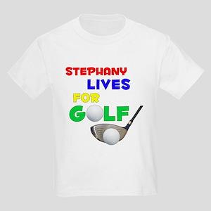 Stephany Lives for Golf - Kids Light T-Shirt