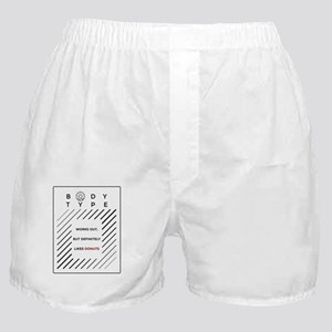 Works Out Loves Donuts Dark Boxer Shorts