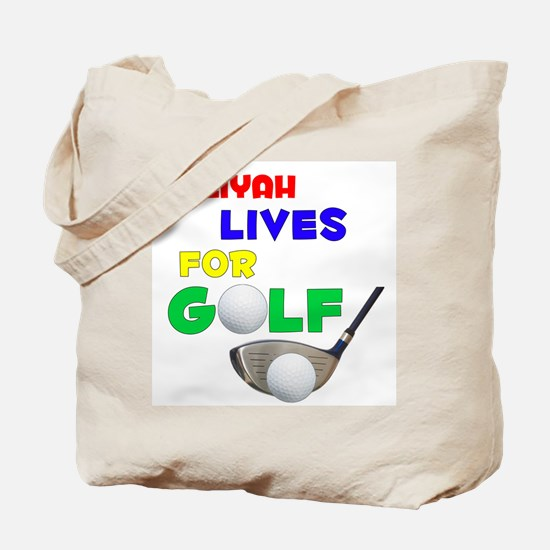 Taliyah Lives for Golf - Tote Bag