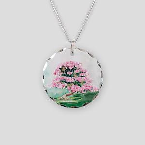Pink Bonsai Necklace