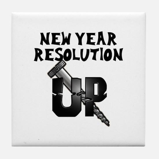 Resolution Screw Up Tile Coaster