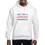 Complete Swimmer (blank) Hooded Sweatshirt