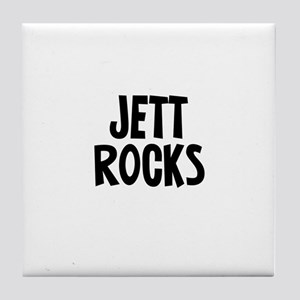 Jett Rocks Tile Coaster