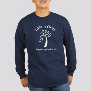 Tikkun Olam Adult Long Sleeve in Blue or Black