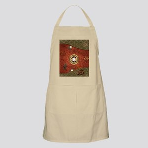 Steampunk, clocks and gears Apron