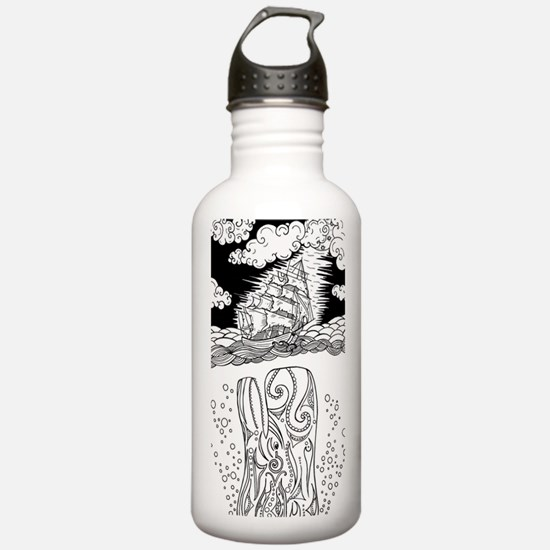 Cute Whale sperm Water Bottle
