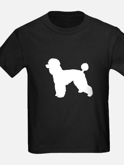 Poodle White 1 T-Shirt