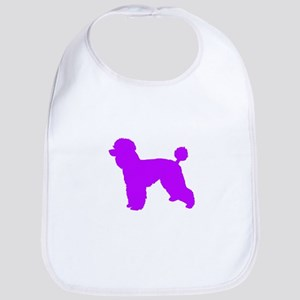 Poodle Purple 1C Bib