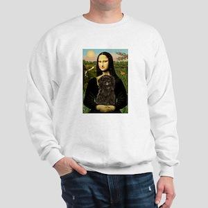 Mona Lisa & Affenpinscher Sweatshirt