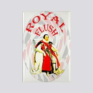 Royal Flush Rectangle Magnet (10 pack)