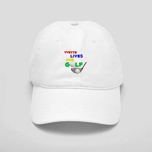 Yvette Lives for Golf - Cap