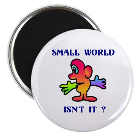 SMALL WORLD Magnet
