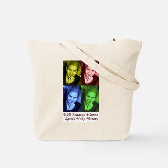 Eva Perón Tote Bag