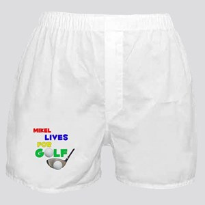 Mikel Lives for Golf - Boxer Shorts