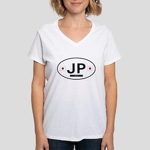 Japan 2F Women's V-Neck T-Shirt