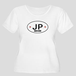Japan 2F Women's Plus Size Scoop Neck T-Shirt