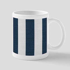 coastal blue nautical stripes Mugs